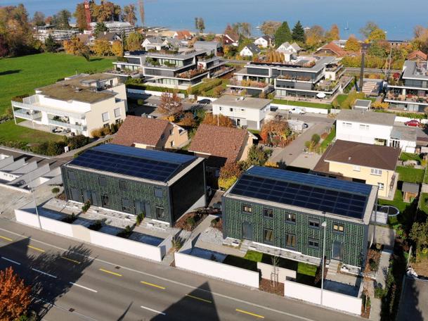 ECO-Solar-Häuser in Uttwil TG