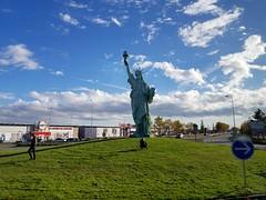 Statue of Liberty copy in Colmar