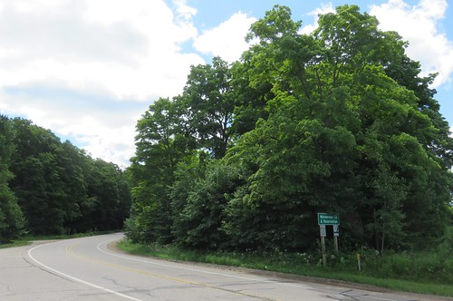 Entering the Menominee Nation (Menominee County, Wisconsin)