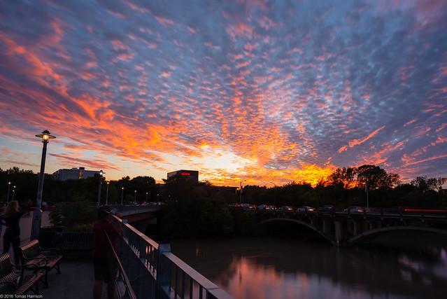 Epic Sunset, Nikon D750, AF Nikkor 24mm f/2.8D
