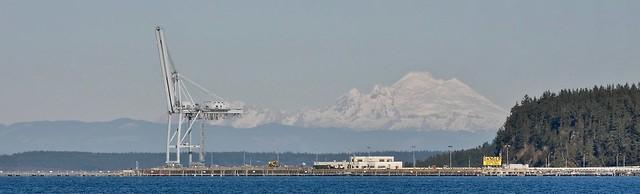 Mount Baker, Panasonic DMC-GX7, Lumix G Vario 45-200mm F4.0-5.6 Mega OIS