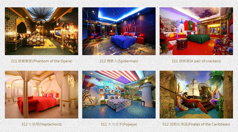 Taipei - Sato Castle Hotel Queen Room