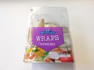 Wojnar's Wraps Hühnchen - Verpackung