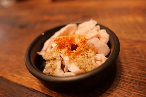 Chicken breast cacio e pepe