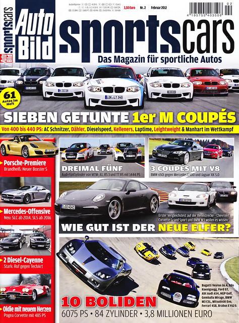 Auto Bild Sportscars 2/2012
