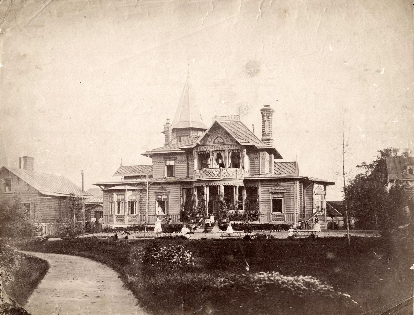 Дом Б. И. Гофмарка на Выборгской стороне. 1887