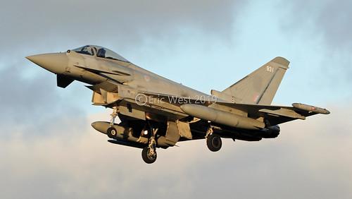 ZJ931/931 TYPHOON RAF