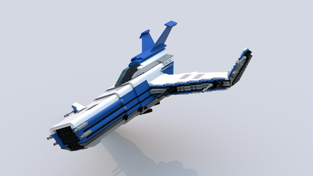 Buildable Starfighter 02
