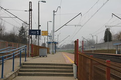 Justynów train station