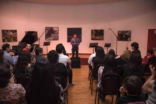 Gala de violin, violonchelo, canto y a capela