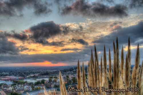 sunrise signalhill california clouds sky southerncalifornia