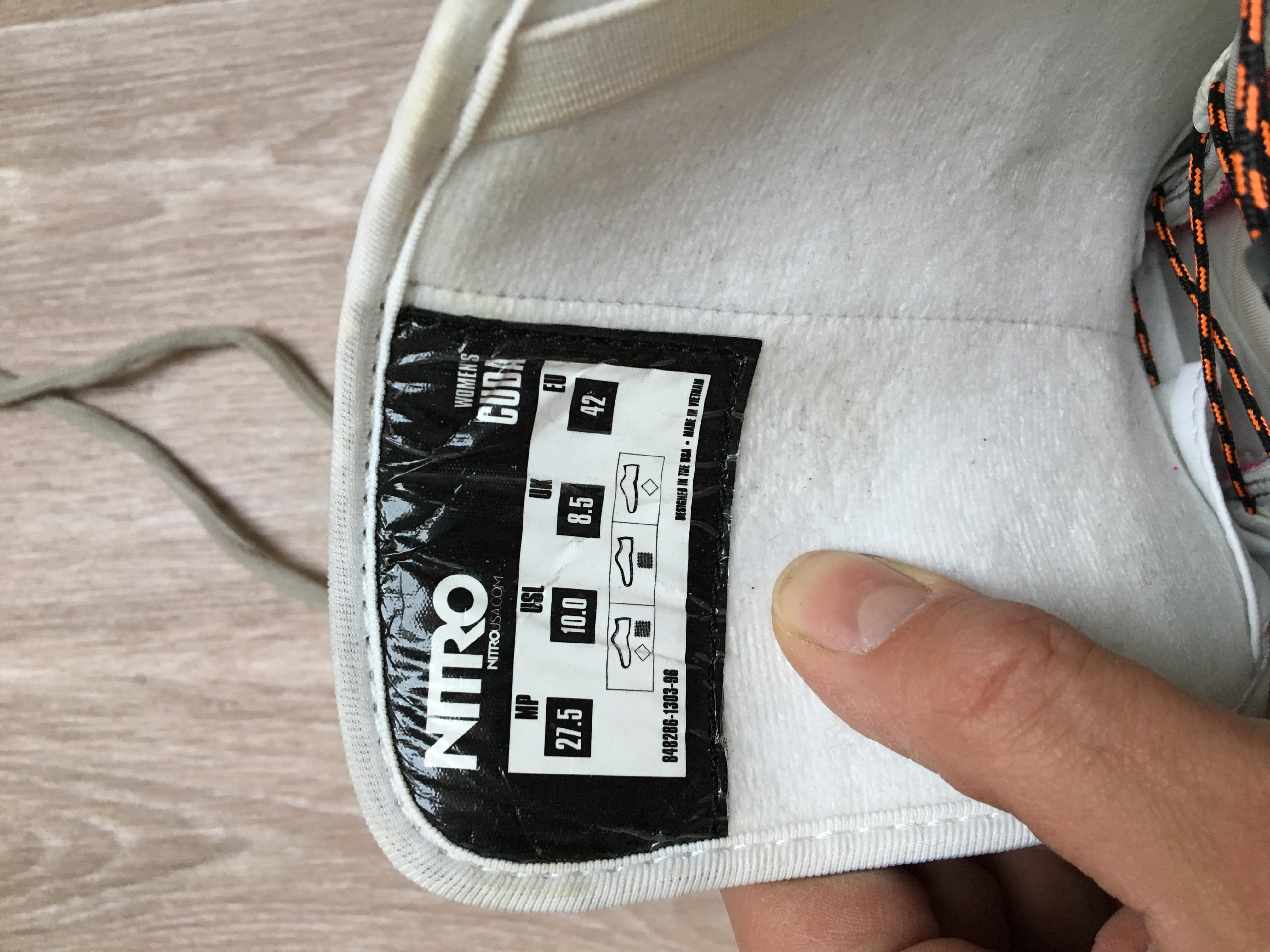 42 - fotka 1 Dámské snowboard boty NITRO vel. 42 - fotka 2 ... 010e0e42fe