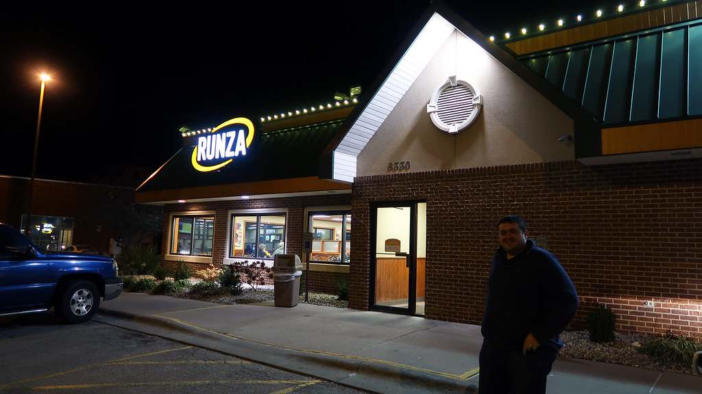 First time at Runza in Lincoln, NE