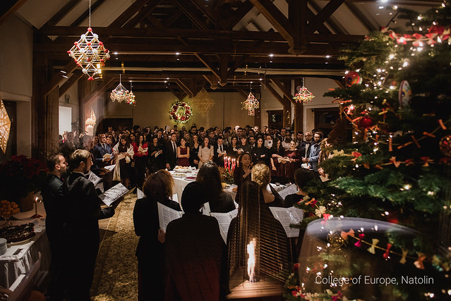 Christmas dinner for Natolin students - 20 December 2018