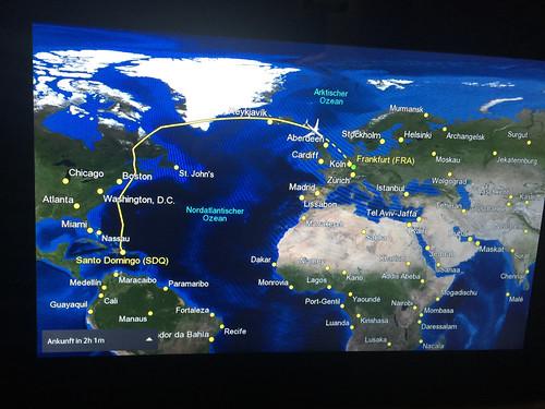 104 - Umweg über Grönland / Detour across greenland