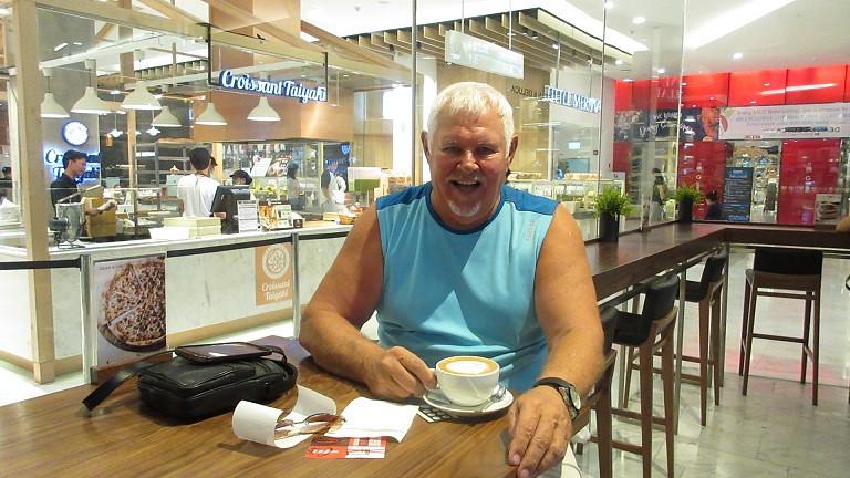 Gourmet food coffee Bangkok