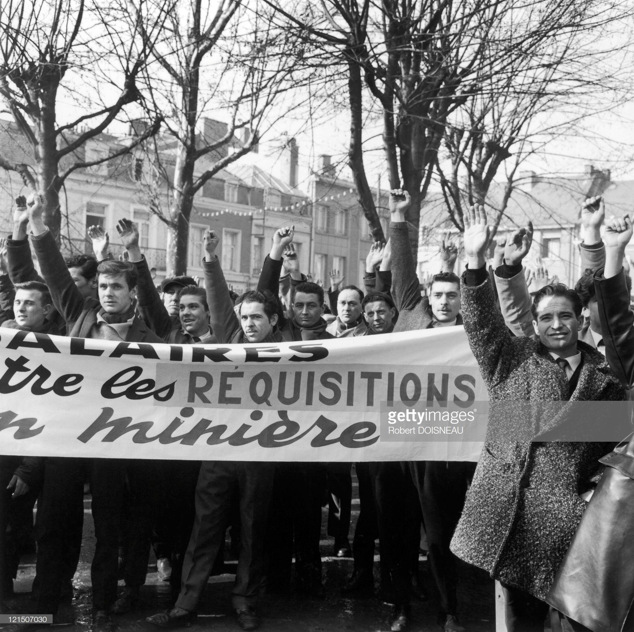 1963. Ззабастовка шахтеров