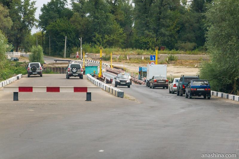 Понтонная переправа через Дон, Воронежская область