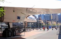 British Airways Concorde G-BOAD, Intrepid Sea, Air and Space Museum, New York.
