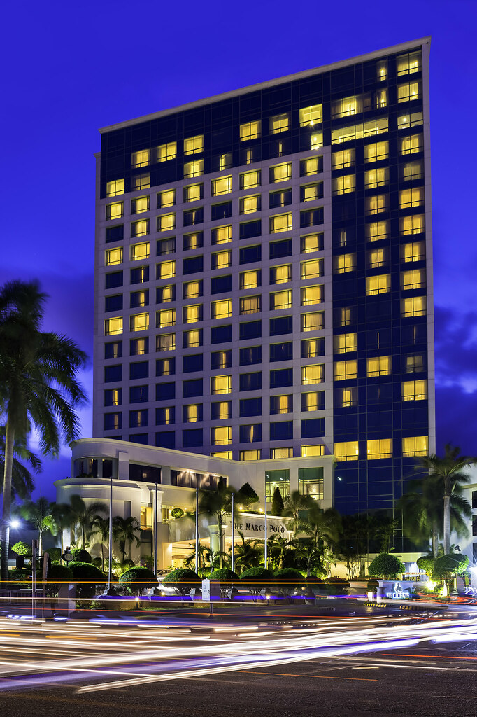 Marco Polo Davao Earns 2018 TripAdvisor Certificate of Excellence - DVO_Exterior_Night