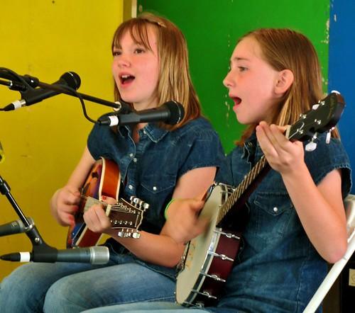 2011 MerleFest Acoustic Kids - Saturday Morning Showcase