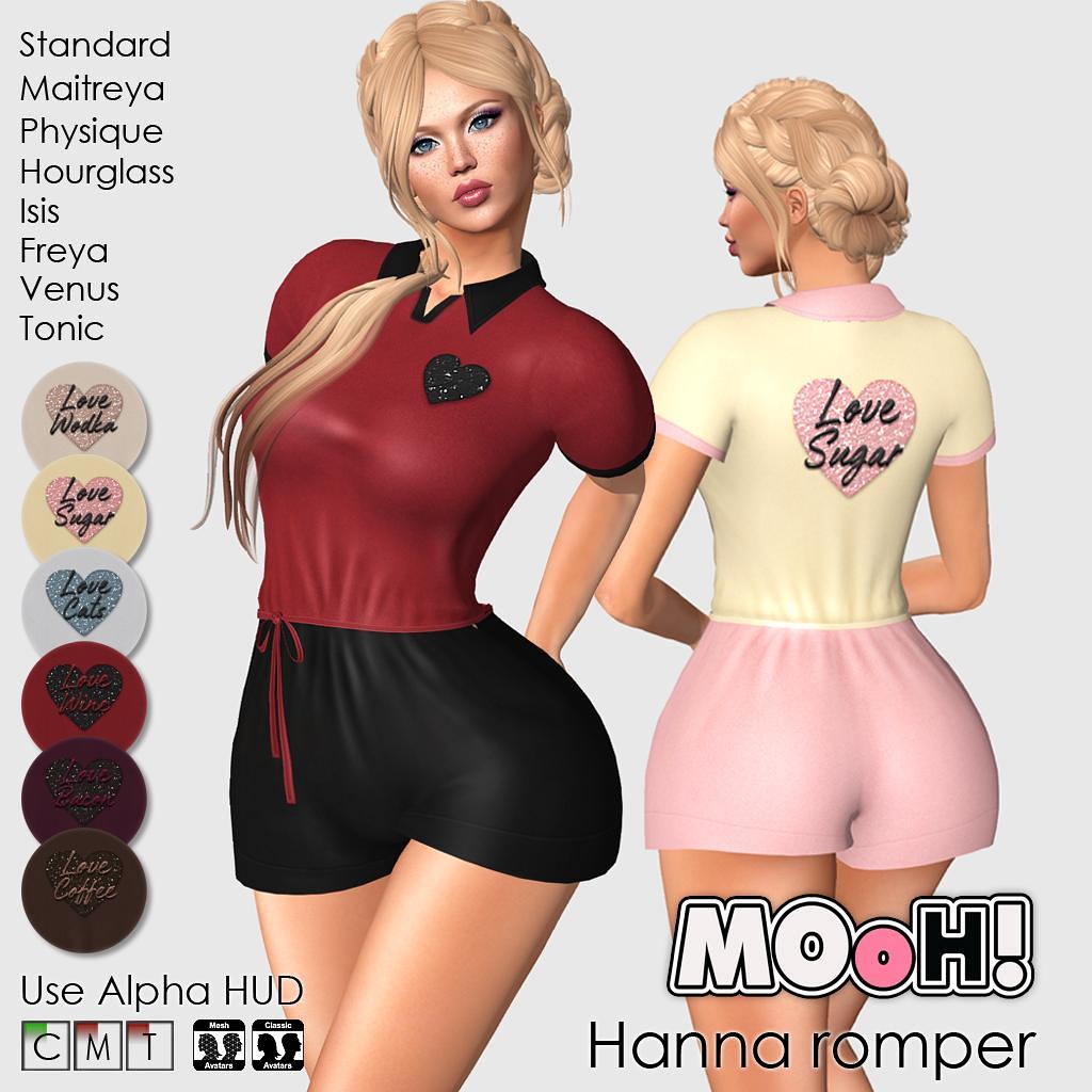 Hanna romper - TeleportHub.com Live!