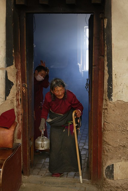 A kind of retirement home of Sershul monastery, Tibet 2018