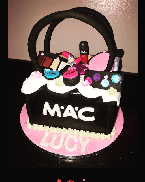 Mac Makeup Cake by Jamie-Lee Murray Cakes