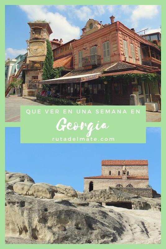 Que ver en Georgia en 1 semana