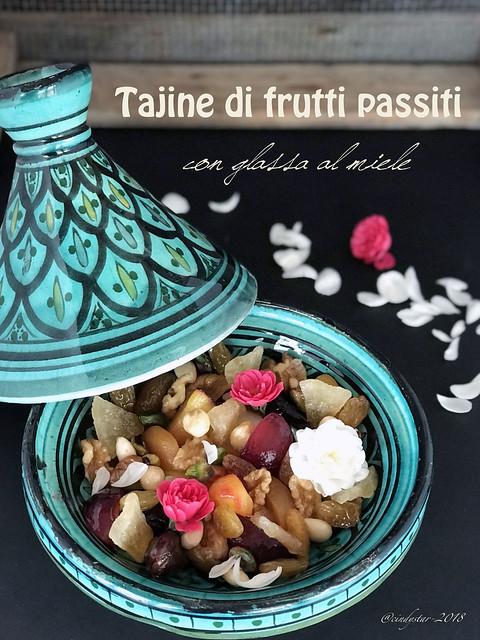 tajine frutti passiti con glassa al miele