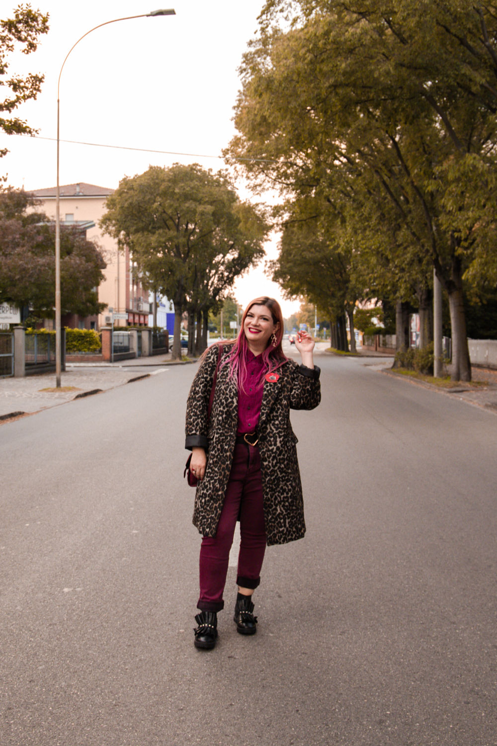 outfit plus size cappotto leopardato animalier (2)