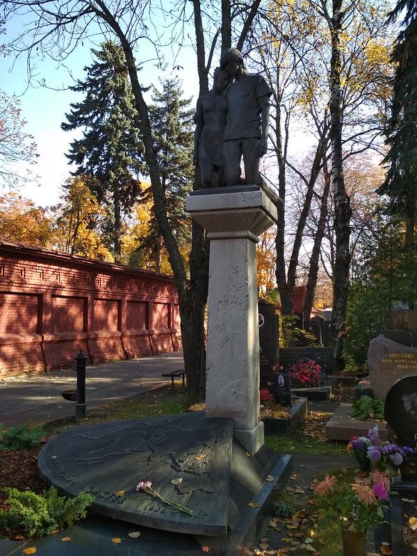 Москва - Новодевичье кладбище - Игорь Моисеев