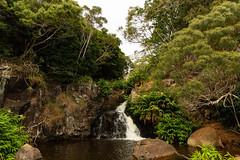Waipoo waterfalls Waimea Canyon Park Kauai, Hawaii