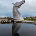 The Kelpies: Stretch up your long necks to face the sun.