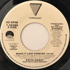 KEITH SWEAT:MAKE IT LAST FOREVER(LABEL SIDE-A)