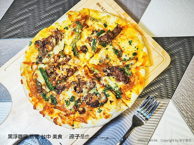 黑浮咖啡 崇德 台中 美食 26