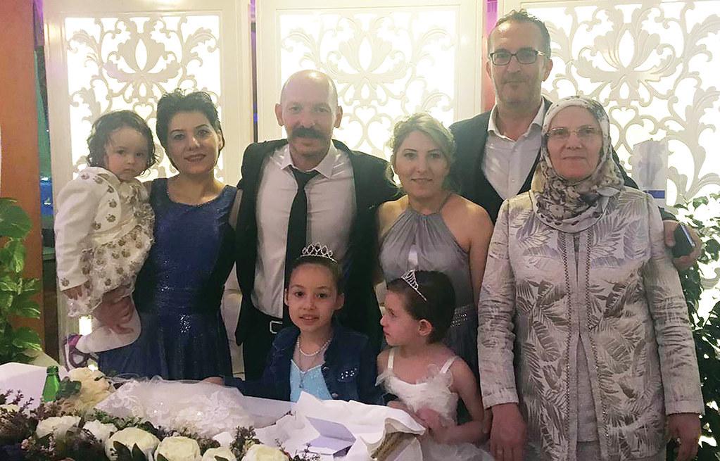 Ali ve Nurcan evlendi
