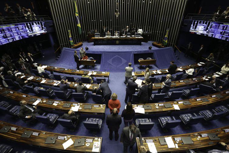 Senado aprova reajuste  salarial de 16% para ministros do Supremo , plenário Senado