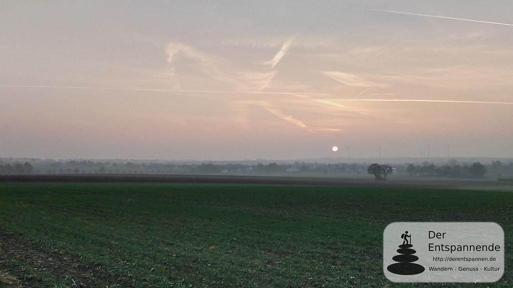 Sonnenaufgang über Selzen