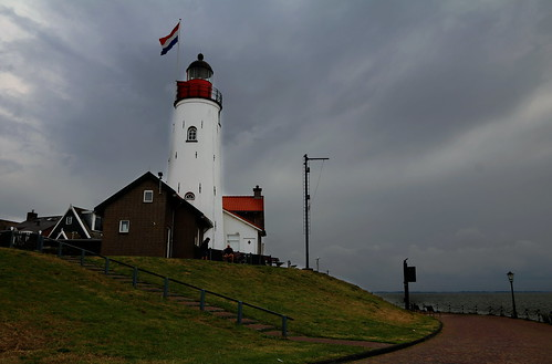Lighthouse in Urk - Holland