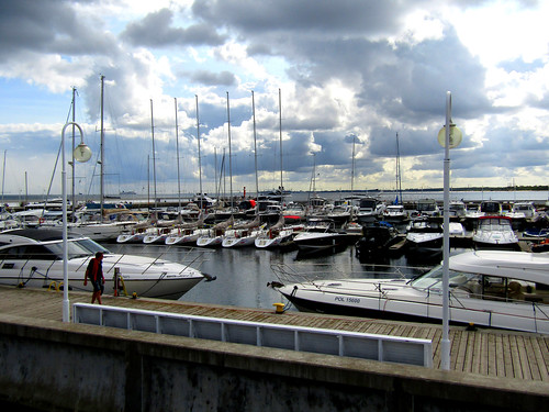 marina at Sopot's Pier in Poland