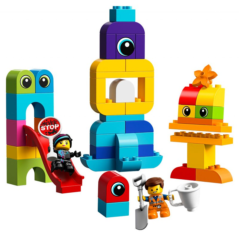 Emmet and Lucy's Visitors from the DUPLO Planet (10895)