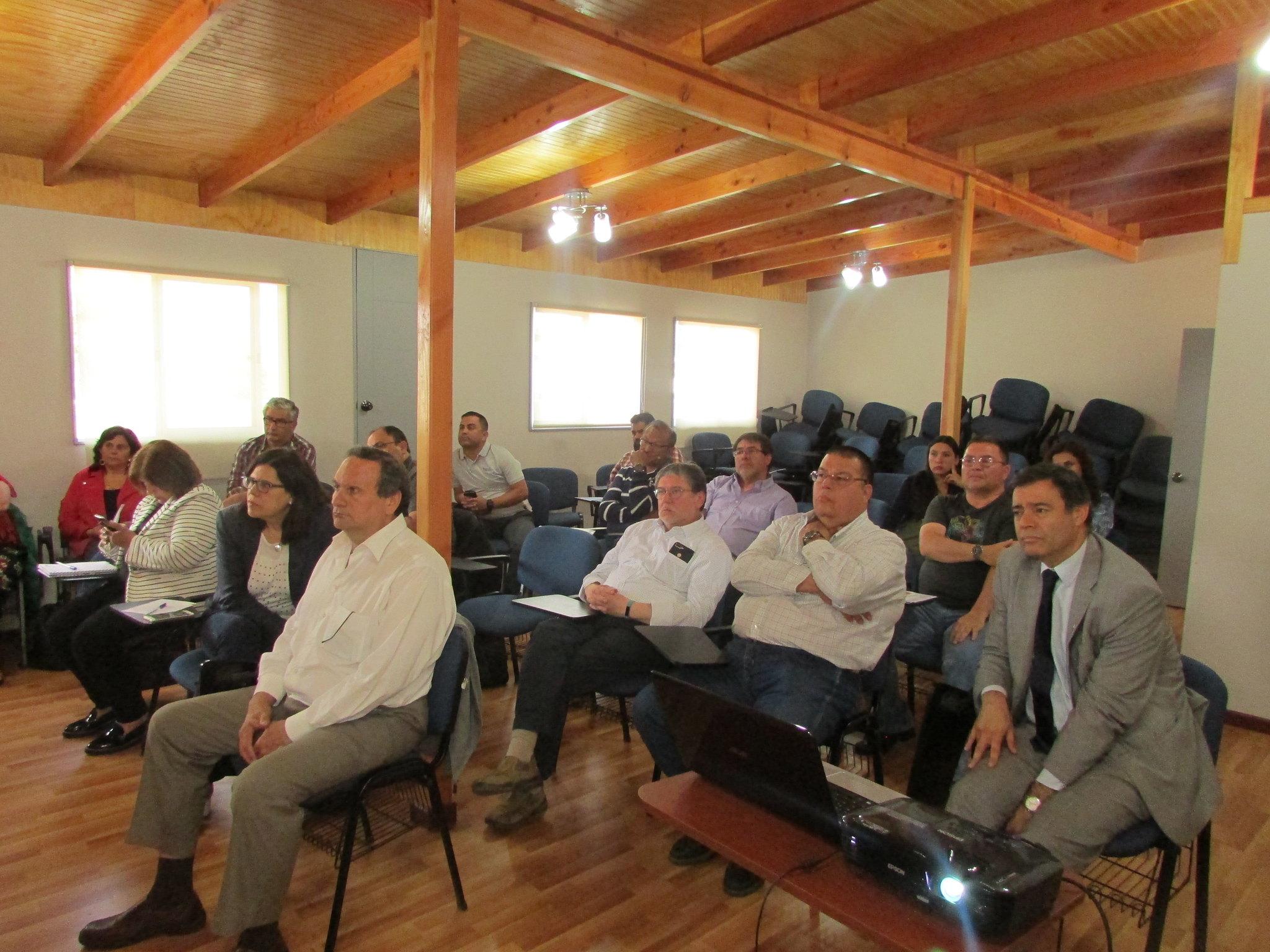 Jornada de trabajo de dirigentes AET regionales y nacionales, en Santiago – 05 Diciembre 2018