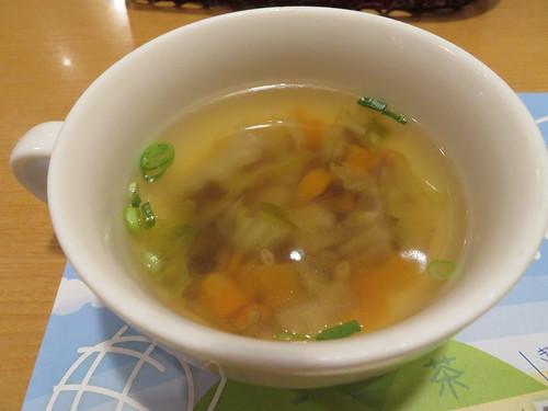 炭焼きレストランさわやか スープ