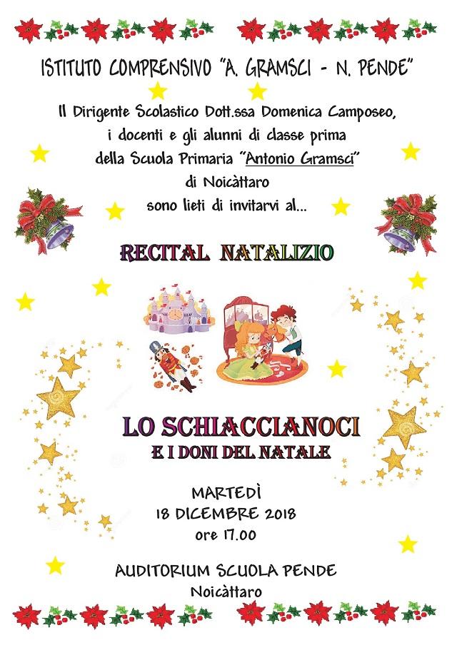 Noicattaro. recital pende intero