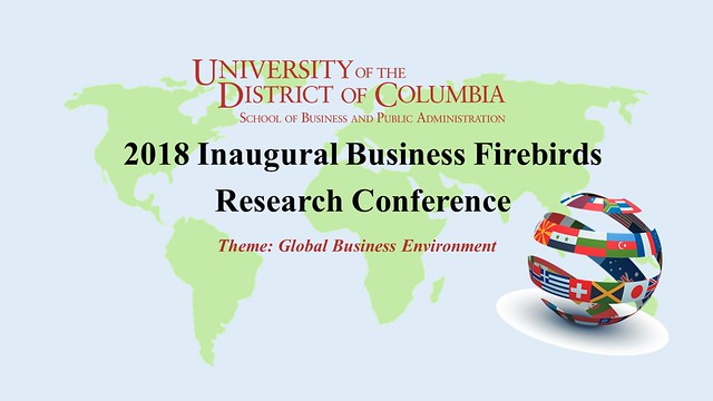 2018 Inaugural Business Firebirds Research Conference
