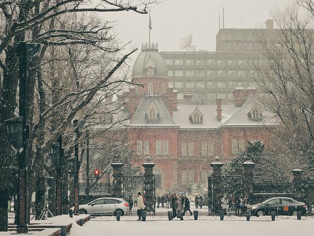 旧北海道庁 Former Hokkaido Government Building, Nikon COOLPIX P340