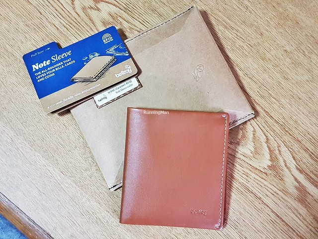 Bellroy Note Sleeve - Leather RFID Caramel
