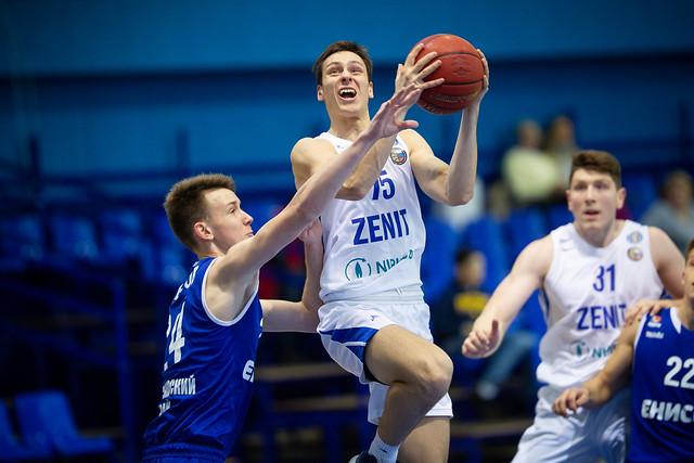 Единая молодежная Лига ВТБ 2018/2019, «Зенит» — «Енисей»
