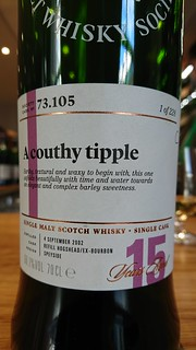 SMWS 73.105 - A couthy tipple